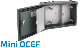 Mini-OCEF Fiber Optik Splice Kabinet