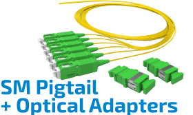 Pigtail ve Optik Adaptör Kit