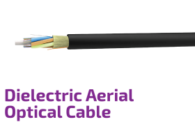 Dielectric Aerial Self-Supported Optical Cable