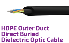 HDPE Duct Protected Buried Dielectric Optic Cable