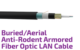 Buried/Aerial Armored Central Tube Optic Cable