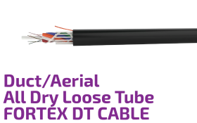 FORTEX DT - Duct/Aerial Single Jacket Fiber Optic Cable