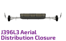 J396L3 Aerial Optic Distribution Closure