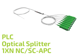 PLC Optical Splitter 1XN NC/SC-APC