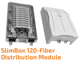 SlimBox 120-Fiber Indoor Distribution Module