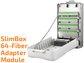 SlimBox 64-Fiber Indoor Adapter Module