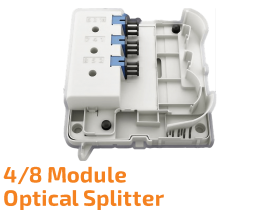Outdoor Optical Splitter Module WM 4/8