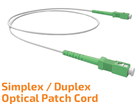 Simplex/Duplex Single-mode Optik Patch Kablo