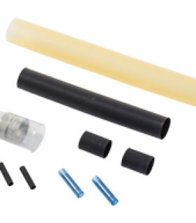Heat-shrink under insulation in-line splice kit S-19