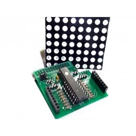 Pi Matrix Raspberry Pi LED Matrix and Driver Board Kit