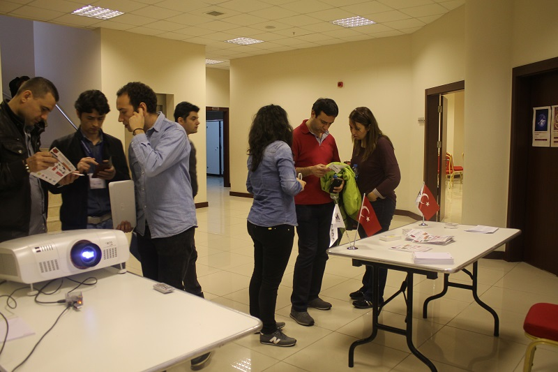 Participants interested in Raspberry Pi Istanbul