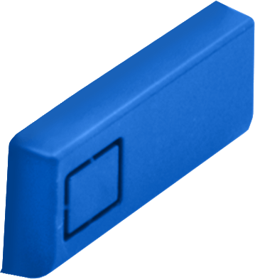 Modular Case Blue USB Cover