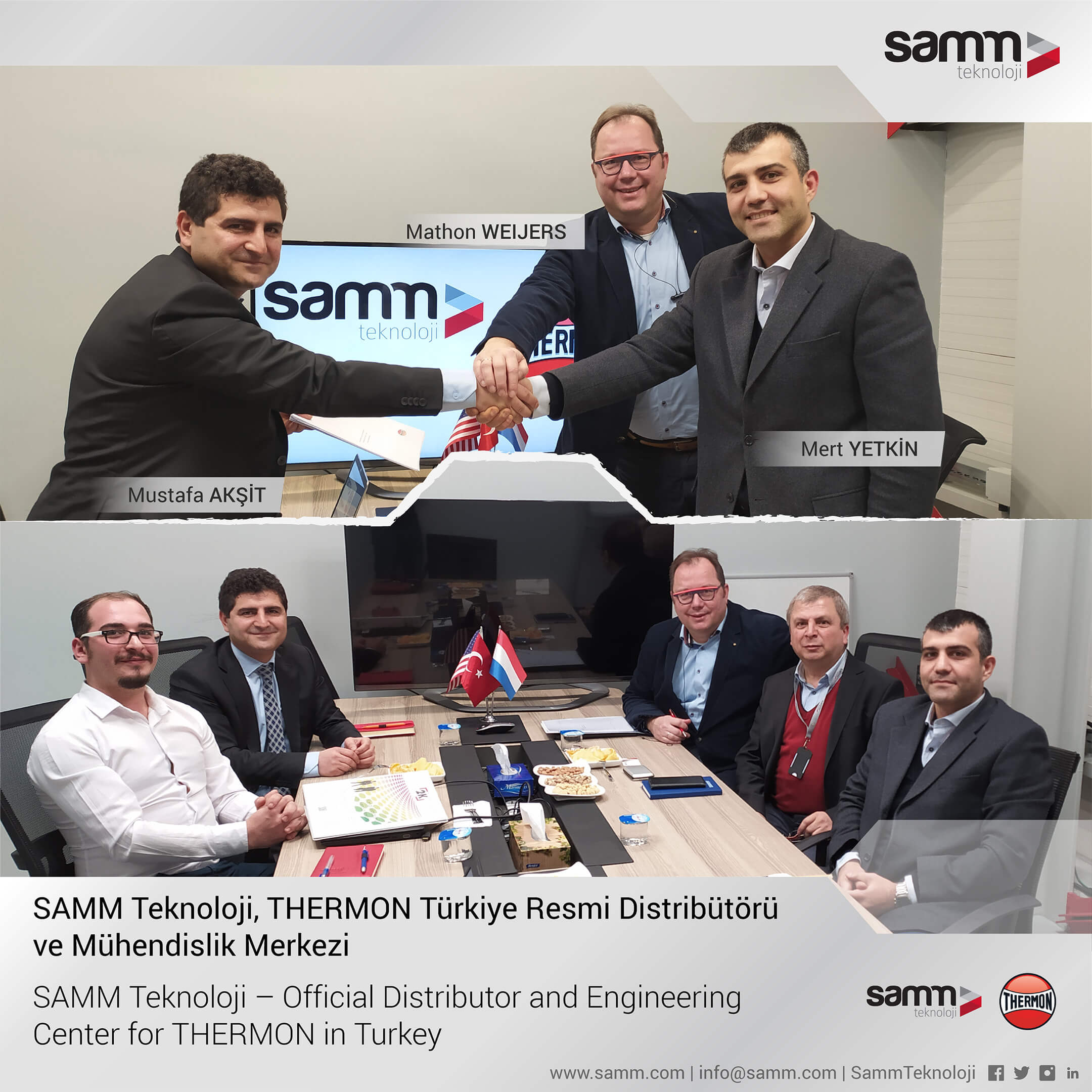 SAMM Teknoloji, The Official Distributor and Engineering Center for Thermon in Turkey 1