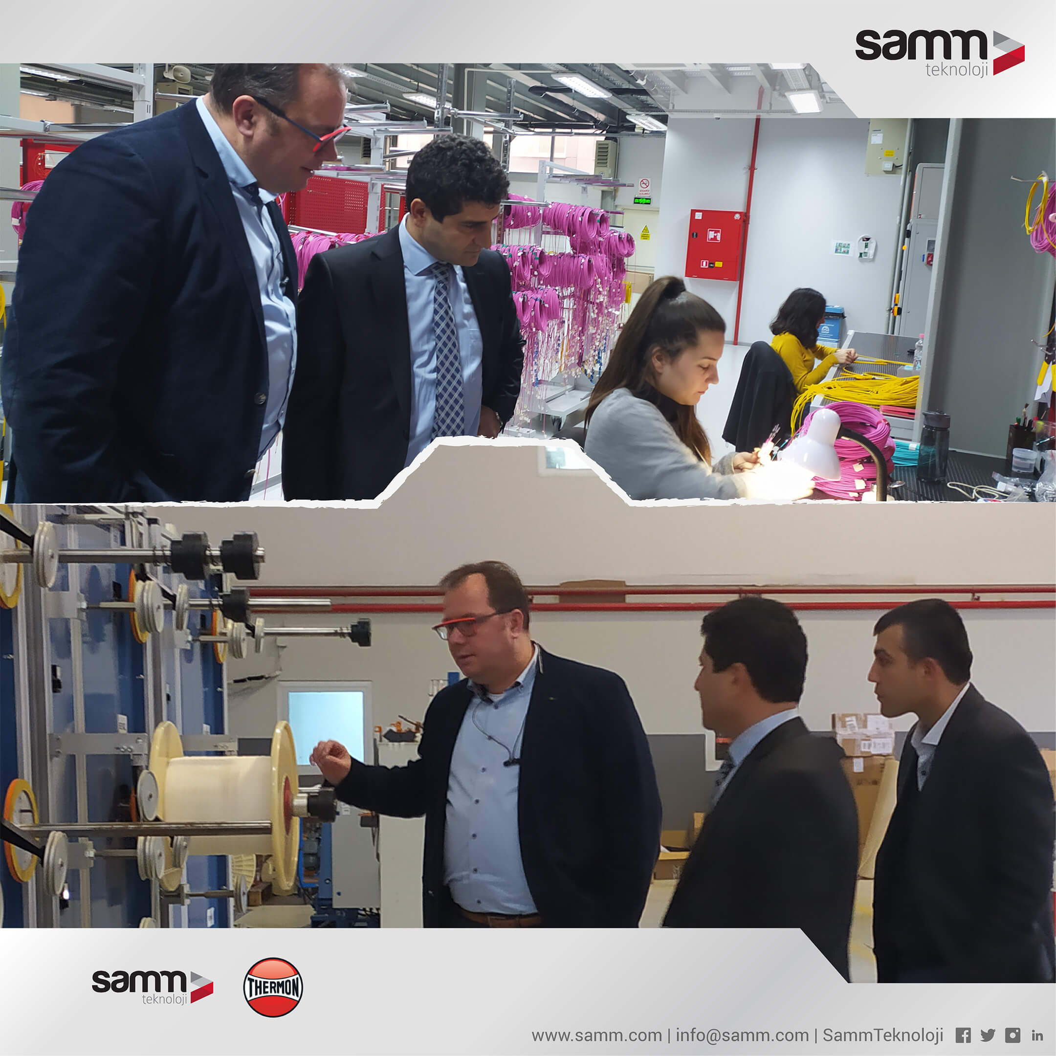 SAMM Teknoloji, The Official Distributor and Engineering Center for Thermon in Turkey 2