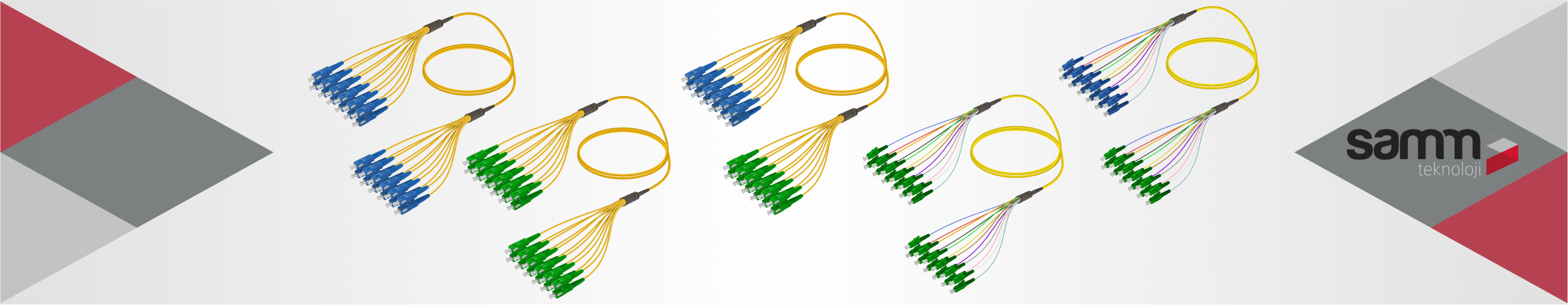 Single Mode Fanout | 12 Fiber