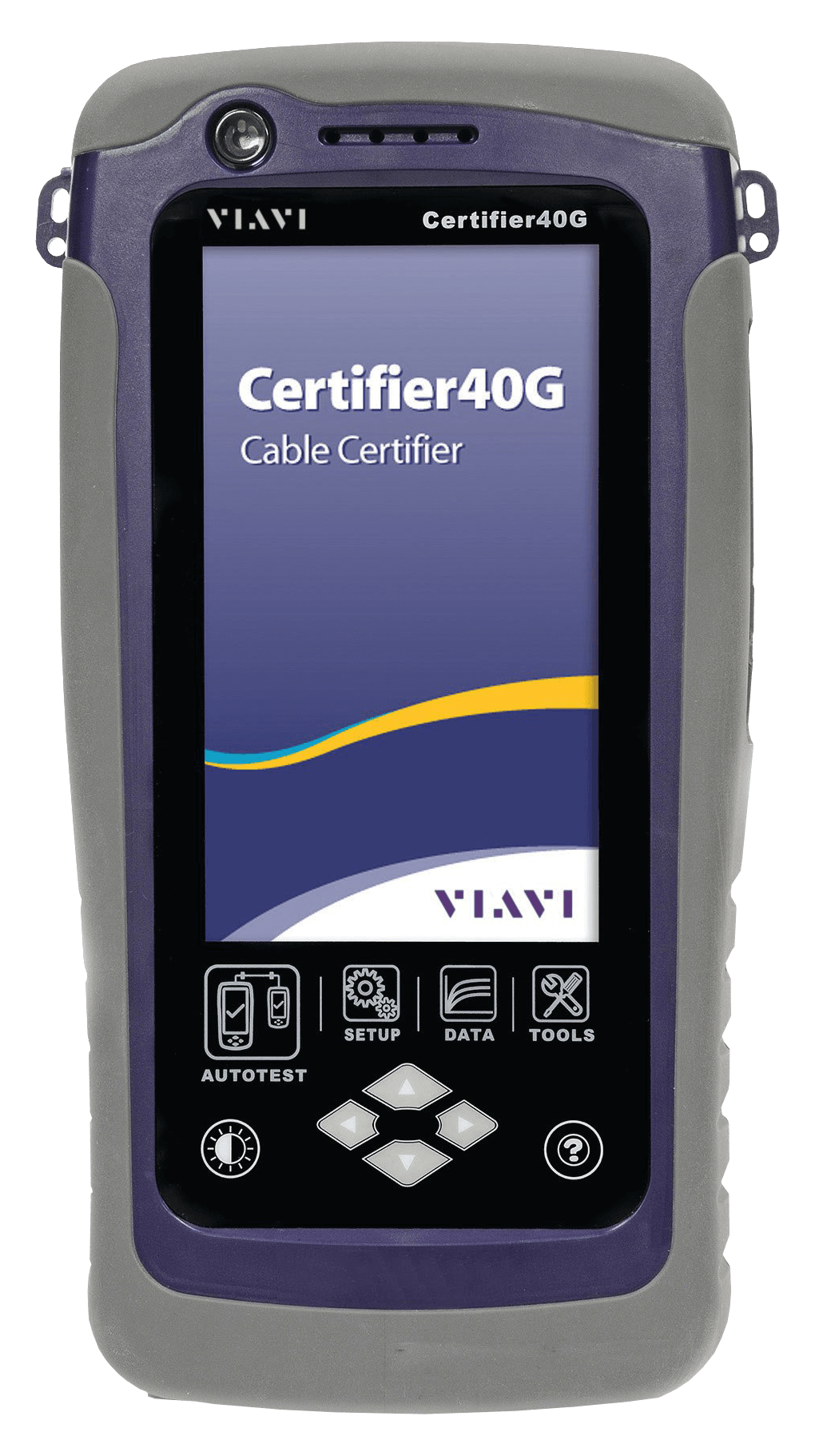 VIAVI Certifier40G Copper and Fiber Test, Certification and Analysis Device -5