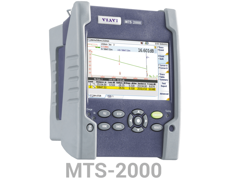 VIAVI MTS-2000 Fiber Optik OTDR Test Cihazı