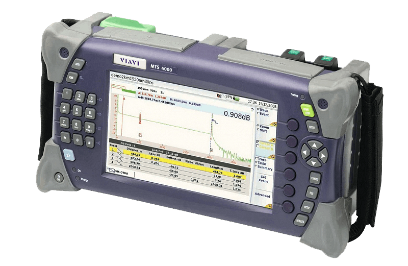 VIAVI-MTS-4000-OTDR-Fiber-Optic-Test-Platform-buttons-navigation-Multiple-Services-JDSU-1
