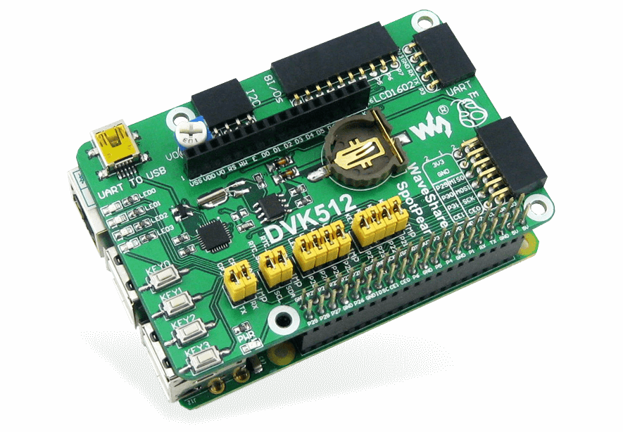 WaveShare DVK512 Raspberry Pi Expansion Board