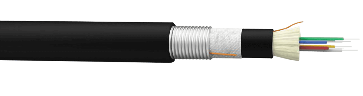 كابل الألياف البصرية Fiber LAN-AR Armored Indoor/Outdoor Cable الخارجي - Furukawa Central Office Broadband Systems