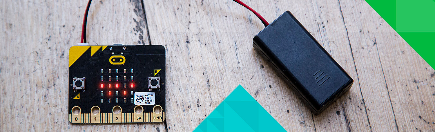 micro bit go with batteries