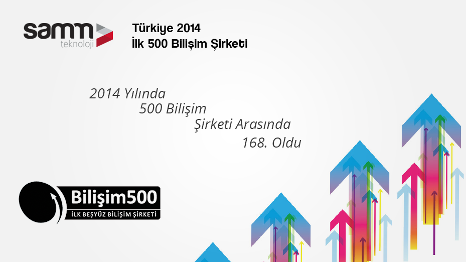 The 2014 TOP 500 Information Technology Companies in Turkey have been announced