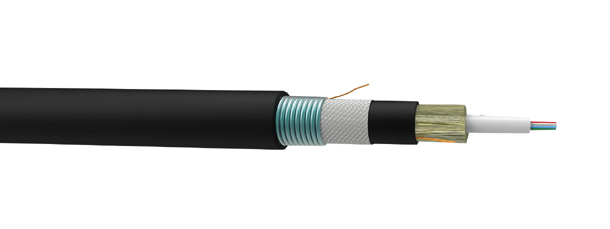 Buried/Aerial Armored Central Tube Optic Cable - Furukawa Distribution Network Broadband Systems