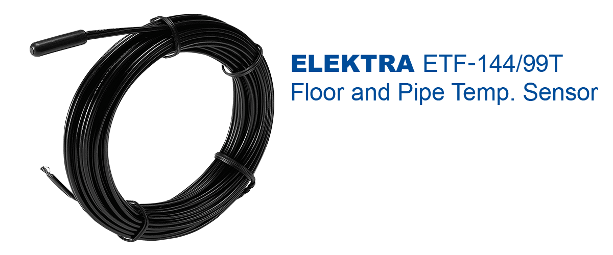 elektra-ETF‐144/99T Floor and Surface Temperature Sensor