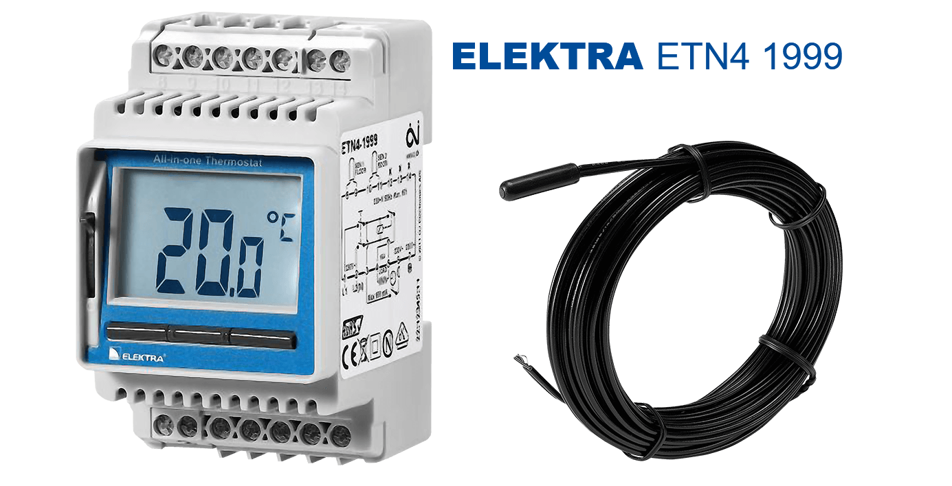 elektra-etn4-1999-thermostat  - floor heating  and pipe frost protection