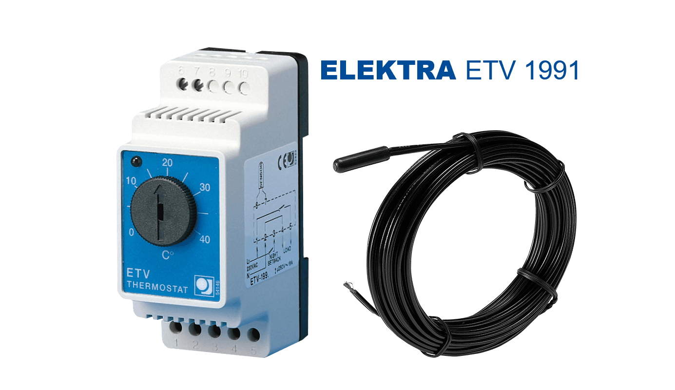 elektra-etv-1991-thermostat - floor heating  and pipe frost protection