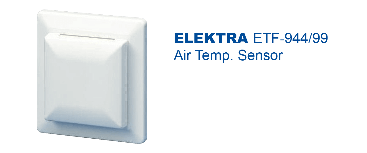 ETF‐944/99 wall socket Air Temperature Sensor