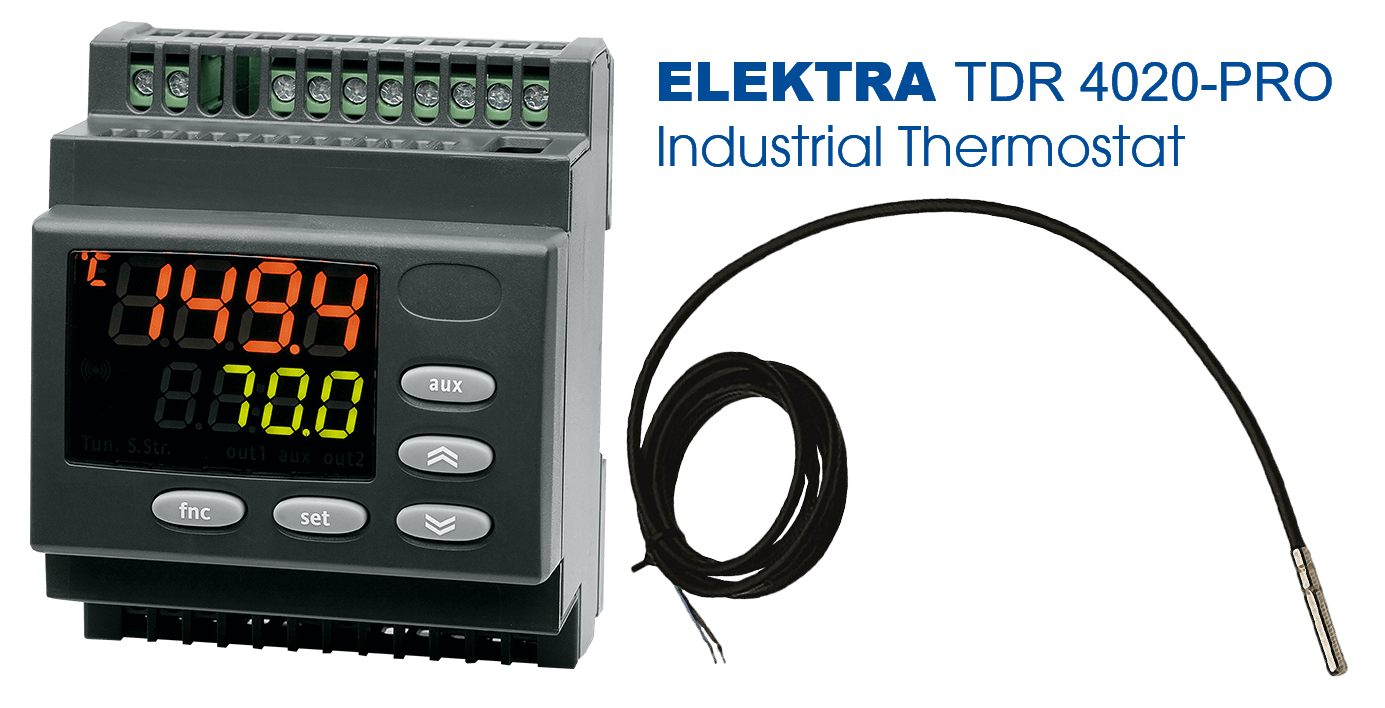 ELEKTRA TDR 4020-PRO Thermostat | industrial electric temperature maintenance and anti-frost protection