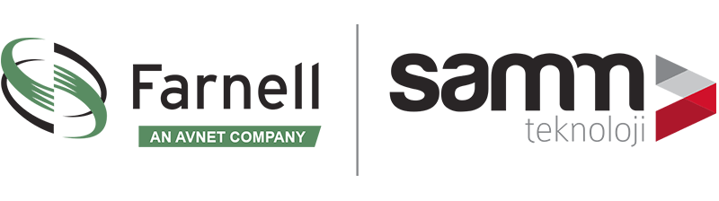 Samm and Farnell Cooperation Logo