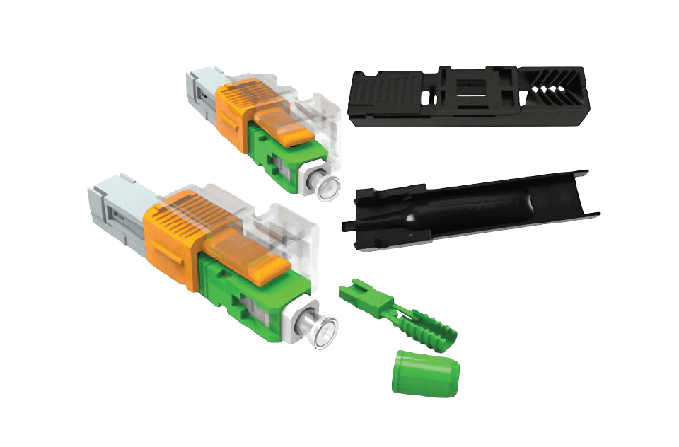 EZ! SC Connector for Round Cables  - Furukawa Access Network Broadband Systems