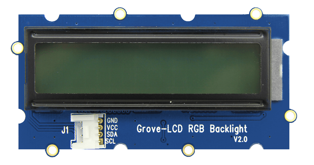 Grove Pi LCD RGB Backlight