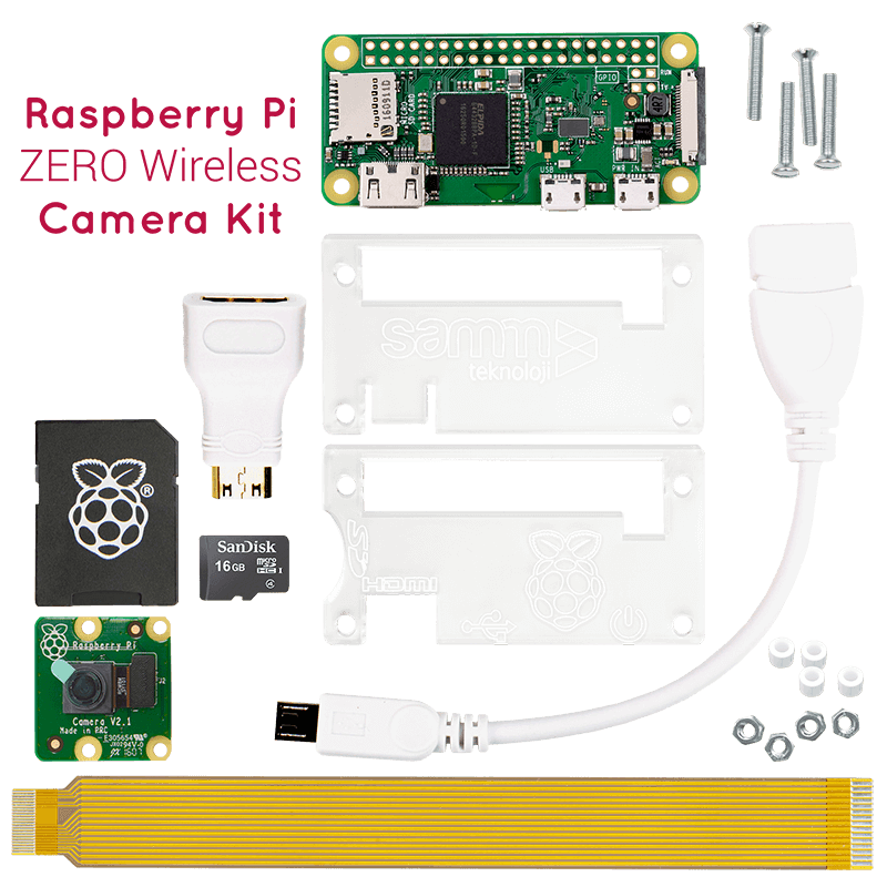 Link To Raspberry Pi ZERO Wireless Camera Kit