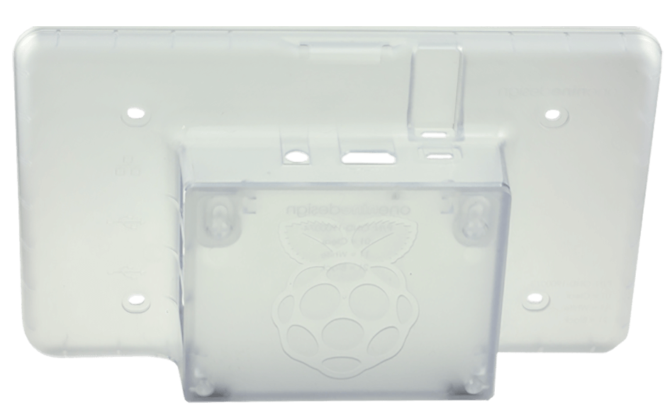 Raspberry Pi 7 Touchscreen Clear Case