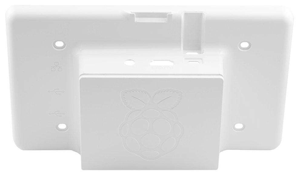 Raspberry Pi 7 Touchscreen White Case