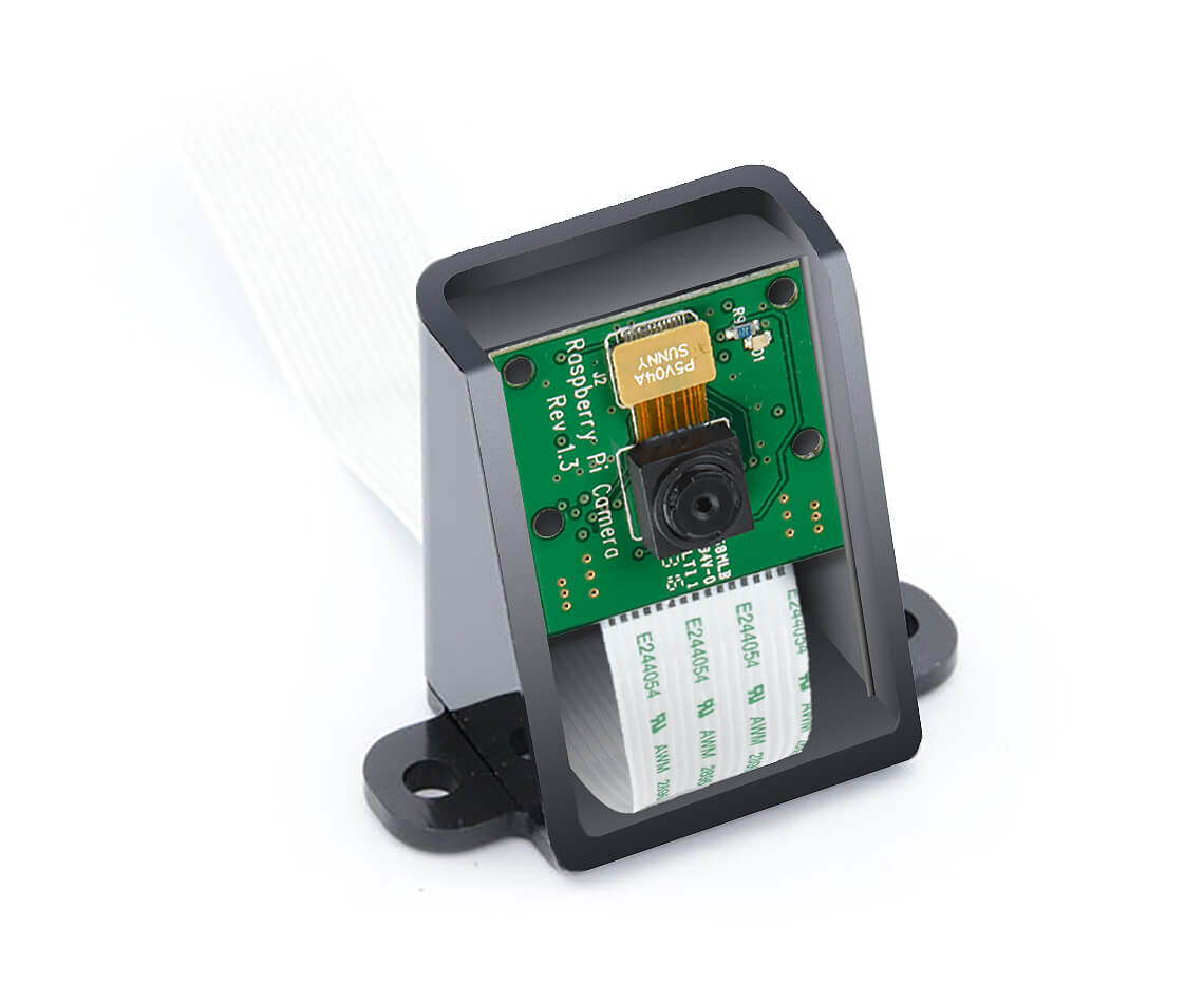 Raspberry Pi Camera Black Enclosure Case