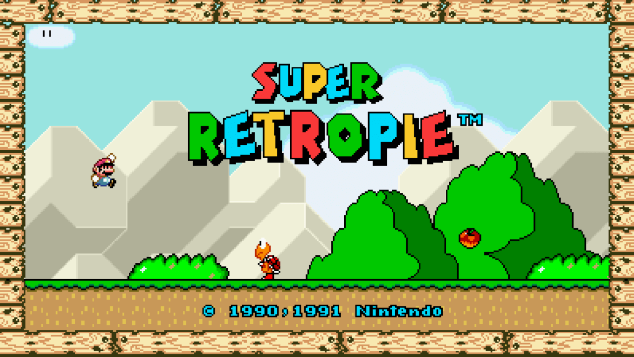 Retropie Super Mario kxd 881S raspberry pi gamepad