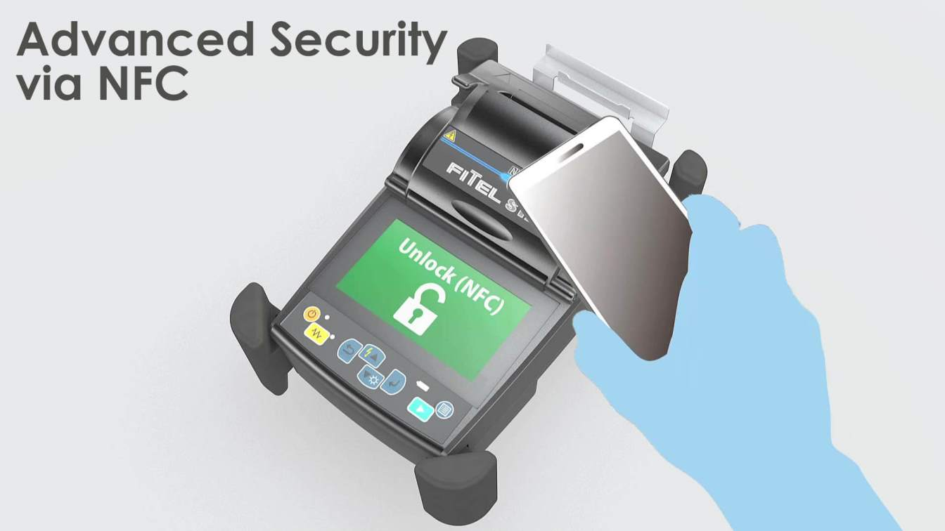 Fusion Splicing S179 - Advanced Security via NFC