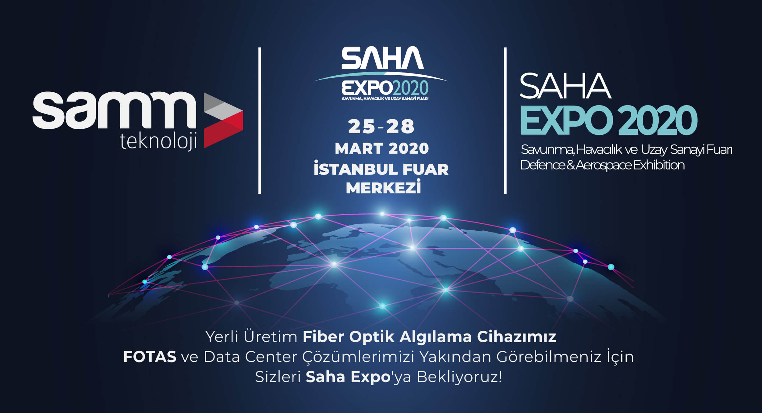 SAHA EXPO 2020 Defense, Aerospace Exhibition | Samm Teknoloji