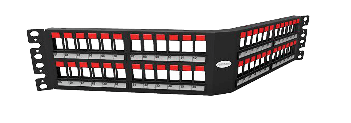 باتش بانل زاوية ذات حماية Angled Shielded Patch Panel - Furukawa Fisacesso
