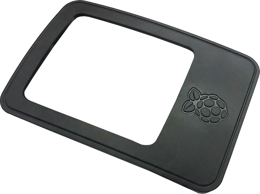 The official Raspberry Pi 3 case in a stunning Black design - top-lid