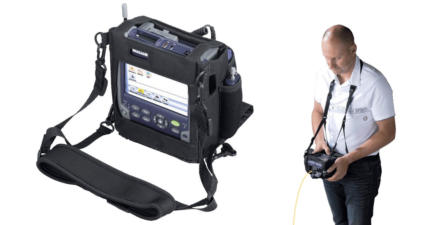 Carier Bag of VIAVI MTS-2000 Handheld Fiber Optic Modular OTDR Test Device