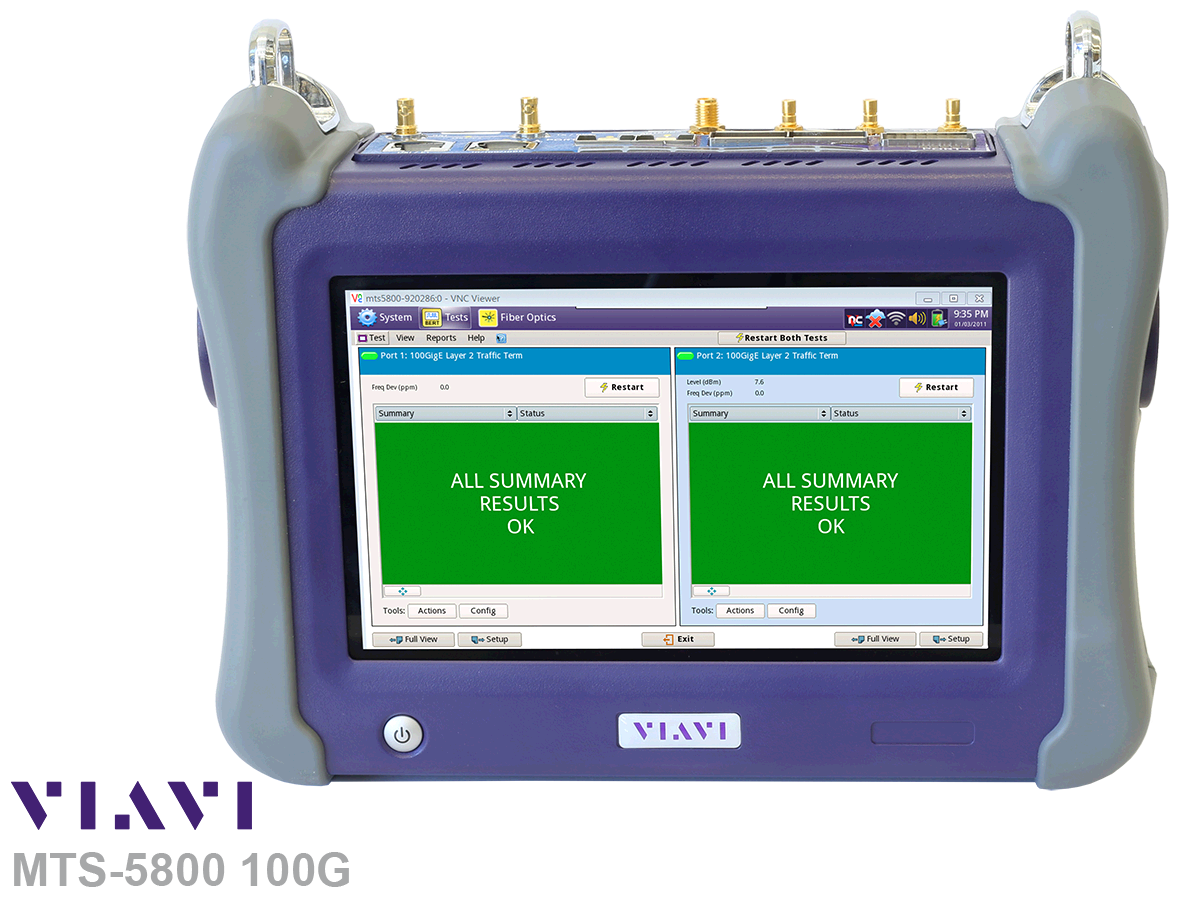 VIAVI MTS-5800 100G Hand held network test device - Viavi Turkey