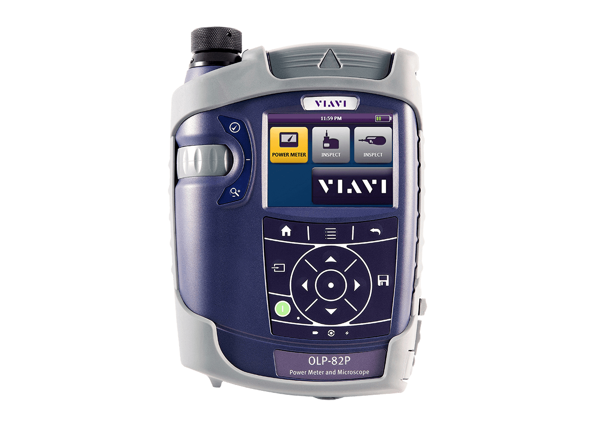 VIAVI OLP-82/82P SmartClass Fiber Power Meter and Microscope