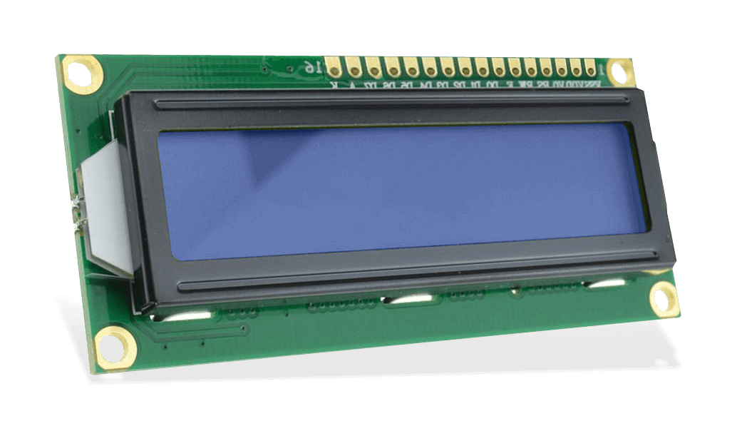 WaveShare LCD 1602 3.3V Blue - 2x16 Characters