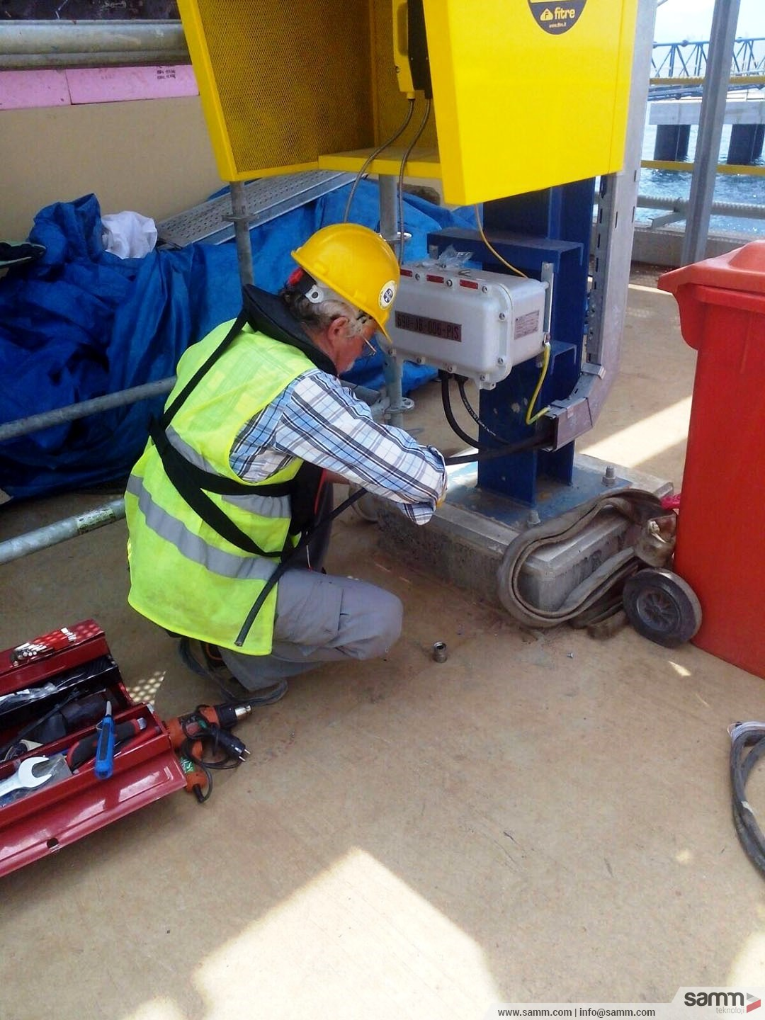 Samm Teknoloji | Telephone junction box installation and termination.