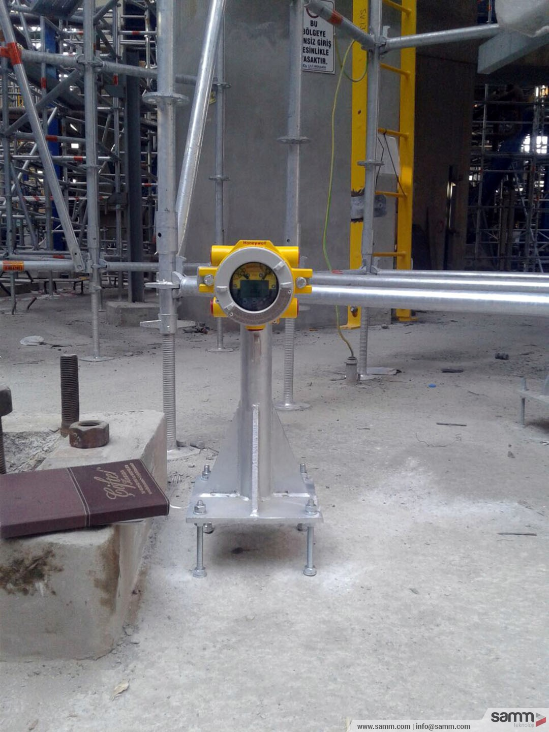 Samm Teknoloji | Instrument installation for a fire and gas system.